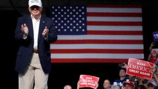 Ứng cử viên Donald Trump mít tinh tại Dimondale, Michigan, ngày 19/08/2016