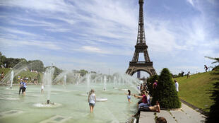 In Paris40°C temperatures on Wednesday 1 July, the hottest recorded temperature since 1947.