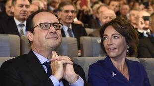 President Francois Hollande and Social Affairs Minister Marisol Touraine, 16 October 2014.