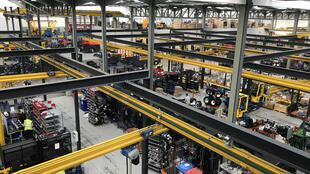 Combilift, one of the biggest employers along the Irish border in Monaghan country, Ireland
