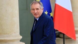 François Bayrou, ex-ministre de la Justice, président du MoDem.