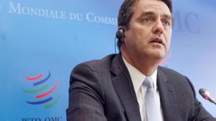 O diretor-geral da Organização Mundial do Comércio, o brasileiro Roberto Azevêdo.