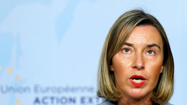 Para a chanceler europeia, Federica Mogherini, o acordo nuclear iraniano funciona.