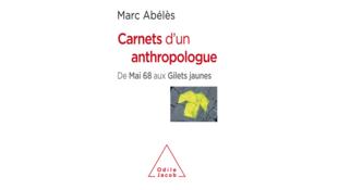Couverture du live «Carnets d'un anthropologue: De Mai 68 aux Gilets jaunes».