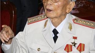 General Vo Nguyen Giap in 2008
