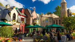 Europa Park sous les couleurs d'automne d'Halloween.