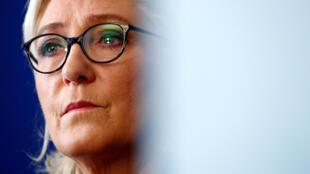 A líder da extrema-direita na França, Marine Le Pen
