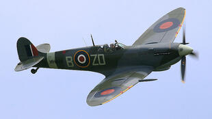 British Spitfire plane used by the Royal Air Force