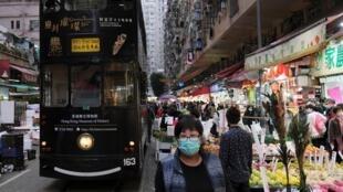 Impacto no consumo dos chineses é o pior efeito da epidemia na economia. Na foto, um mercado de Hong Kong. (04/02/2020)