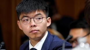 2019年9月17日,香港泛民主派政黨香港眾志秘書長黃之鋒在華盛頓美國國會中國議題委員會,就香港抗爭運動作證。
