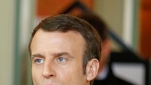 Emmanuel Macron says France was not late in implementing restrictions to limit the spread of the coronavirus.
