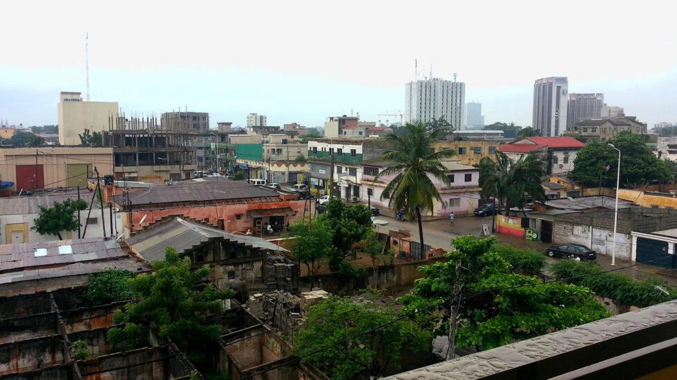 Vue de Lomé, capitale du Togo.