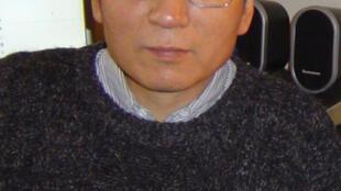 Imagem de 2005 do dissidente e Nobel da Paz Liu Xiaobo.
