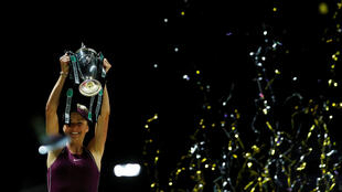 Elina Svitolina is the first player to go unbeaten at the WTA finals since Serena Williams in 2013.