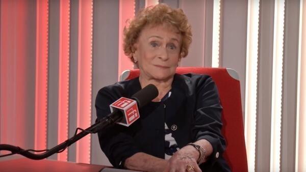 Tatiana Leskova nos estúdios da RFI em Paris