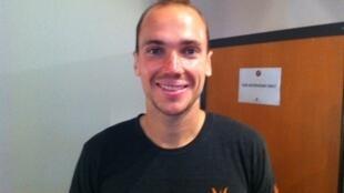 Bruno Soares agora está  nas quartas-de-final com sua parceira americana, no torneio de dupla mista.