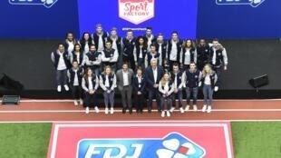 Les athlètes de la FDJ Factory.