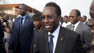 Interim Malian President Diouncounda Traoré arrives in Bamako on Saturday