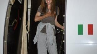 Maria Sandra Mariani est libre après plus d'une année de détention et sa capture par Aqmi le 2 février 2011.