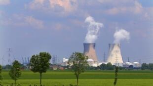 A usina nuclear de Fukushima.