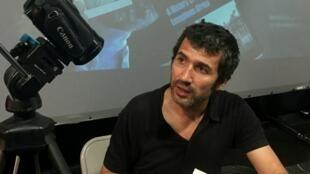 Encenador português André Amálio.