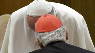 El papa Francisco durante el sínodo, 5 de octubre de 2015.