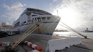 The SNCM ferry Danielle Casanova