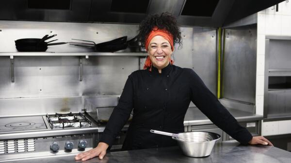 A chef brasileira Rosilene Vitorino