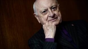 Pierre Bergé in 2015