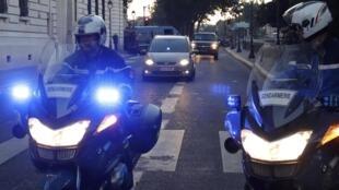 Salah Abdeslam, o único sobrevivente da célula de Paris é ouvido no Palácio de Justiça de Paris.