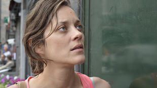 "Marion Cotillard in ""Two Days, One Night"" a film directed by Belgian brothers Dardenne.ilm belge des frères Dardenne."