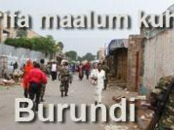 HAli ya wasi wasi nchini Burundi