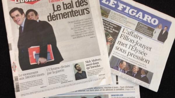 Capas dos jornais franceses desta terça-feira (11).