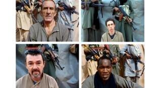 Quatro reféns franceses no Niger postos em liberdade