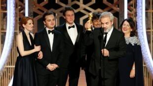 77屆金球獎:《1917》獲劇情類最佳影片獎2020年1月5日