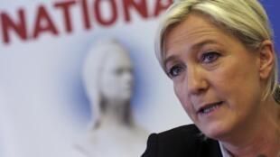 Front National.leader Marine Le Pen