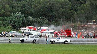 L'aéroport international de Phuket avait été fermé suite à la catastrophe.
