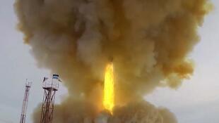 Nga bắn thử tên lửa Avangard, ngày 26/12/2018, tại căn cứ Dombarovski.
