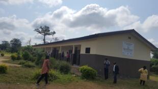 Vue de l'école primaire de Zongodougou