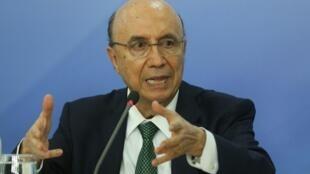 O ministro da Fazenda, Henrique Meirelles