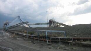Diamond mine in South Africa