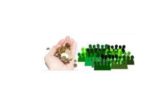A poupança solidária permite o investimento de suas finanças em projetos sociais.