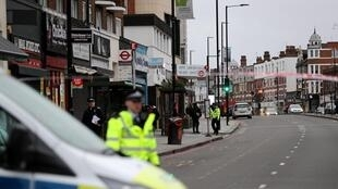 The attack took place in the Streatham neighbourhood of south London, February 2, 2020