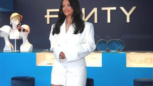 Rihanna, présente le 22 mai 2019 à Paris sa collection avec LVMH.