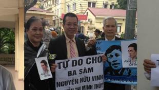 Ông Vũ Quang Thuận, một trong ba người mà HRW kêu gọi Việt Nam trả tự do.