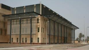 Base norte-americana em Bagdá, no Iraque.