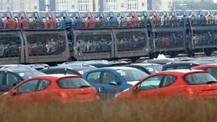 Peugeot manufacturing plant in Calais in Northern France