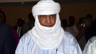លោកMohamed Akotey ថតនៅថ្ងៃទី ២៦ ឧសភា ២០១៤ នៅទីក្រុង Niamey ជាតួអង្គសំខាន់ ចូលរួមក្នុងការចរចាឲ្យមានការដោះលែងចំំណាប់ខ្មាំងពីដៃក្រុមជីហាតAqmi.