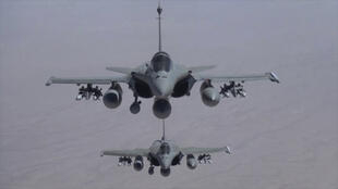 Caças Rafale participam de operações no Iraque contra grupo Estado Islâmico.
