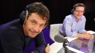 Alfredo Olivares, director de Radio La Colifata, en París América, el pasado 29 de enero.